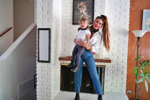 Greaser Girls: A Mom and Daughter Take on a Halloween Beauty Look