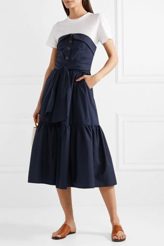 Exactly Which Color Shoes to Wear With Every Navy Dress