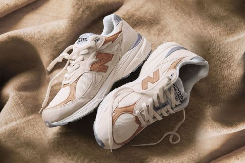 "Todd Snyder Nods to his Favorite Brew With the New Balance 990 ""Pale Ale"""