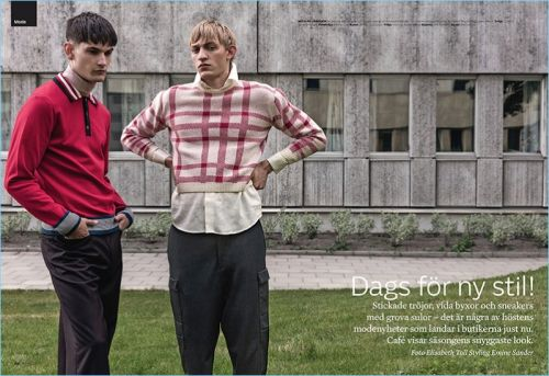 Time for New Style: Reece Sanders & Dylan Moran for Café