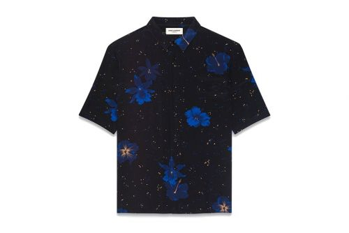 Summer Doesn't Start Until You Slip on Saint Laurent's Silk Shirting