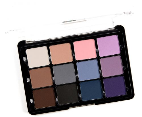 Swatches: Viseart Cool Mattes 2 (11) Eyeshadow Palette