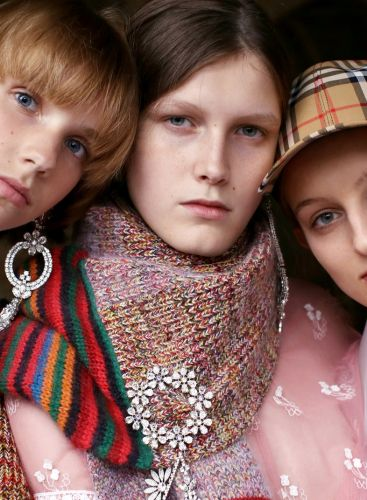 Burberry A/W17: East-End Boys and West-End Girls