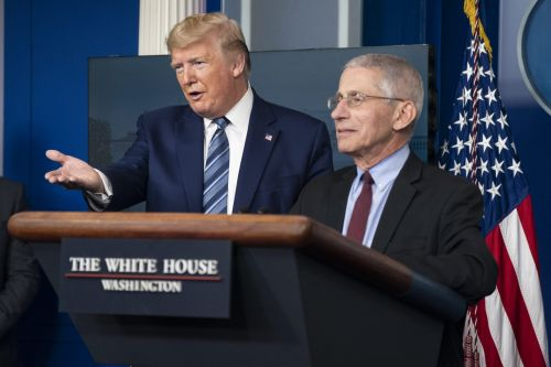 Trump Aides Look To Discredit Dr. Anthony Fauci