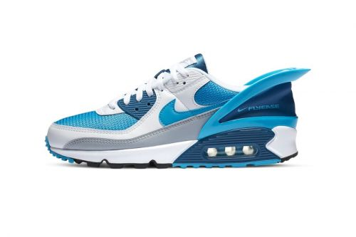 """Nike Updates Air Max 90 FlyEase With Cool """"Industrial Blue"""" Accents"""