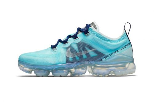 """Nike Air VaporMax 2019 Refreshes in """"Teal Tint/Blue Void"""""""