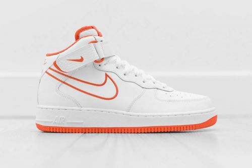 """The Nike Air Force 1 Mid Receives a """"Terra Orange"""" Outline Colorway"""