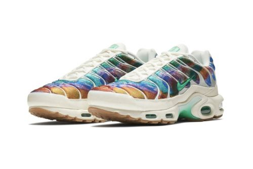 Nike's Air Max Plus Takes on an Abstract Multicolored Makeover