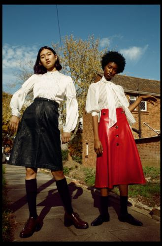 Makala and Eny photographed and styled by Alex Blonde Another