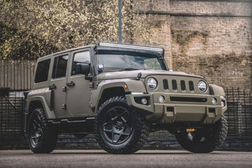 Chelsea Truck Co. Adds Custom Mods to Jeep Wrangler Sahara