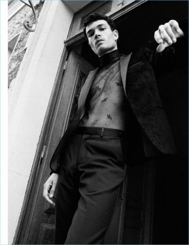 Luka Isaac is an 'Outlaw' for Vogue Hommes Paris