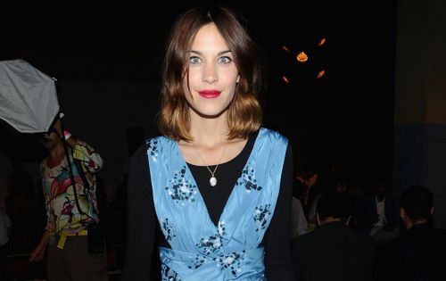 Great Outfits in Fashion History: Alexa Chung in a Proenza Schouler Party Dress