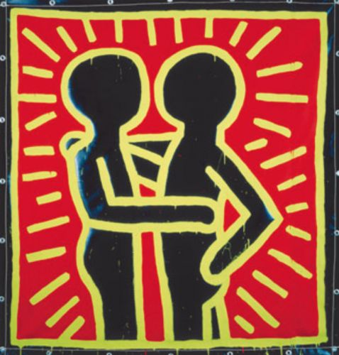 KEITH HARING > THE ALPHABET