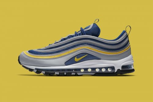 """Nike Gives the Air Max 97 a """"Michigan""""-Inspired Makeover"""
