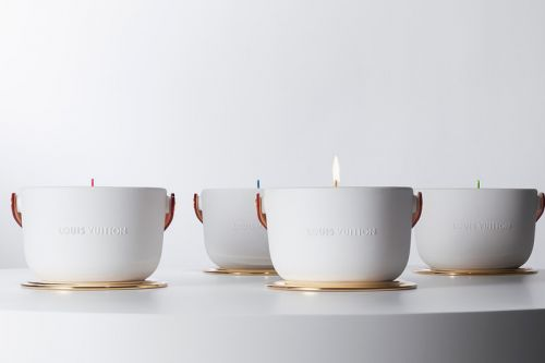 Louis Vuitton Unveils New Ceramic Candles by Marc Newson