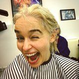 Emilia Clarke's Hair Is Now Targaryen Blonde - Permanently!
