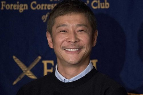 Japanese Billionaire Yusaku Maezawa Is Inviting 8 Creatives To Join His SpaceX Moon Voyage