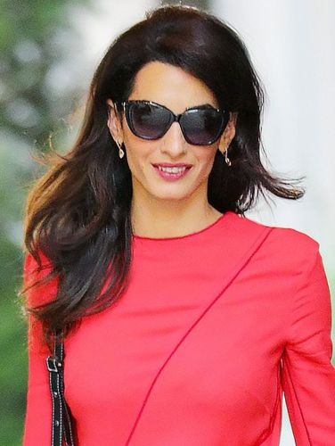Amal Clooney Is Already Wearing This Major Fall Trend From Head-to-Toe