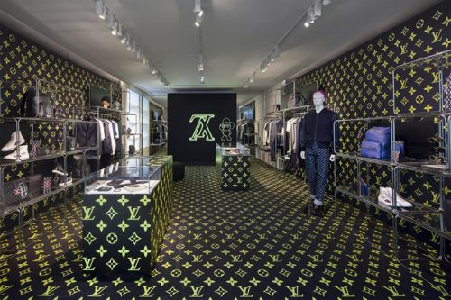 Louis Vuitton Hosts a SoHo Pop-Up Shop for Pre-Fall/Winter 2018 Collection