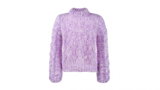 The Lilac Jumper That Will Bring Hints of Spring Into Dara's Fall Lineup