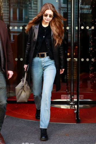 Gigi Hadid Just Started a New Cardigan Outfit Trend in Paris