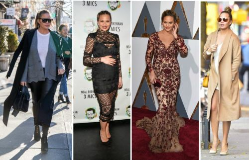 Chrissy Teigen's Best Maternity Looks, On And Off The Red Carpet