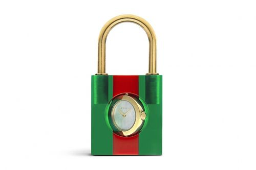 Gucci's Latest Accessory is a Padlock Featuring an Elegant Clock Face
