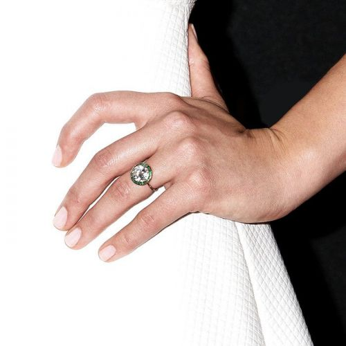 Where Fashion Girls Get Vintage Engagement Rings