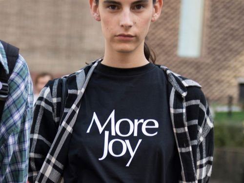 The Story Behind This Year's Must-Have Slogan T-Shirt