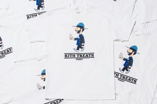 KITH Treats Tokyo & Poggy Celebrate Amazon Fashion Week With a Themed T-Shirt