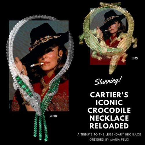 Cartier's Iconic Crocodile Necklace Reloaded