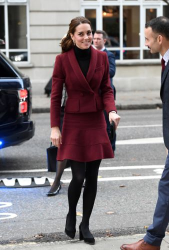 Meghan Markle and Kate Middleton Make the Case for All Burgundy Everything