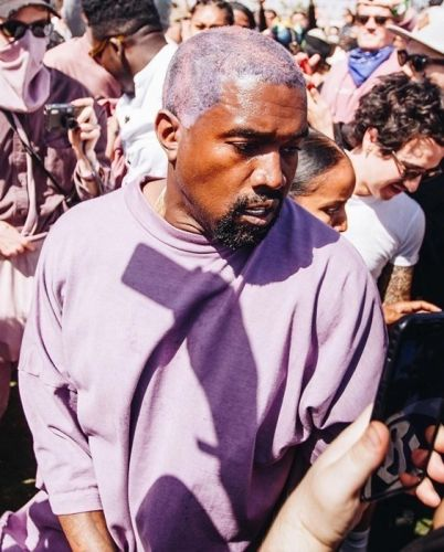 Kanye West tweets screenshots of contracts amid a dispute with his label