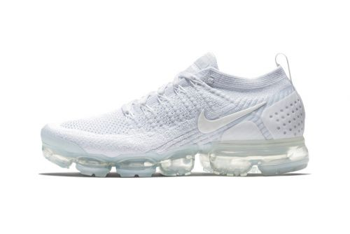"""An Official Look at the Nike Air VaporMax Flyknit 2.0 """"Triple White"""""""