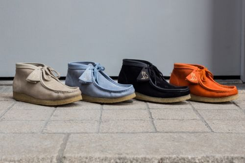 A Closer Look at OVO x Clarks Wallabees