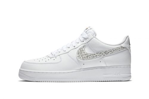 """Nike's Air Force 1 Low Is the Latest Model to Join The """"Just Do It"""" Pack"""
