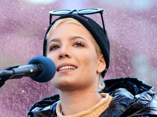 Halsey Shared A Fiercely Honest Poem On Sexual Abuse At The Women's March