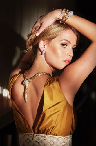 Lady Kitty Spencer Looks Like Royalty in Her New Bulgari Campaign