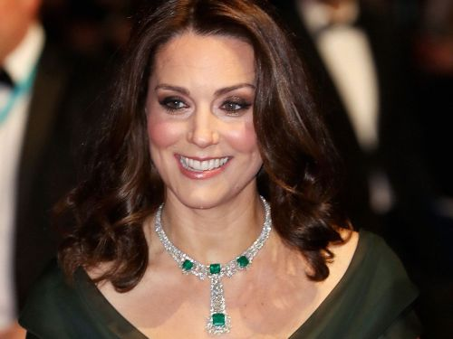 Did Kate Middleton Make A Nod To Time's Up At The BAFTAs?