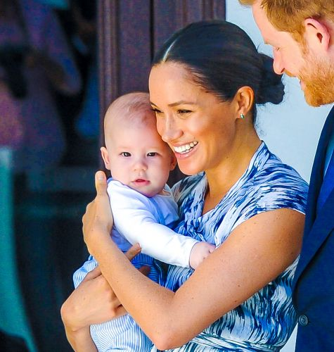 So Grown Up! Pregnant Meghan Markle Spotted With Son Archie During Rare Outing in Los Angeles