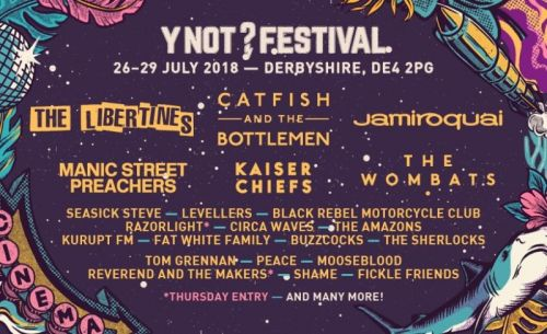 WIN TICKETS TO Y NOT FESTIVAL