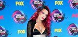 Leave It to Bella Thorne to Rock Face Glitter on the Red Carpet