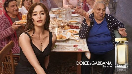Emilia Clarke for Dolce & Gabbana The One