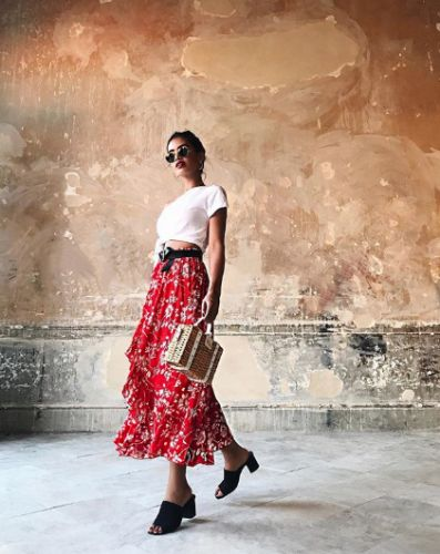 16 Perfect Red-and-White Outfits That Scream Summer