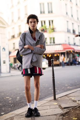 On the Street.Le Marais, Paris