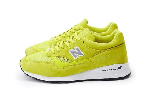 "Pop Trading Company Wraps New Balance's 1500 in ""Electric Yellow"" & ""Pearl White"" Leathers"