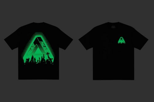 """Fend off Halloween Phantoms in Palace's """"Tri-Cult"""" Glow-in-the-Dark T-Shirt"""