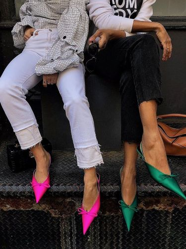 The Shoe Trend You Can Wear With Anything From Now 'Til Fall