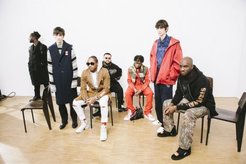 Off-White™ Fall/Winter 2018 Keeps It Star-Studded Backstage as He Dresses the Future CEO