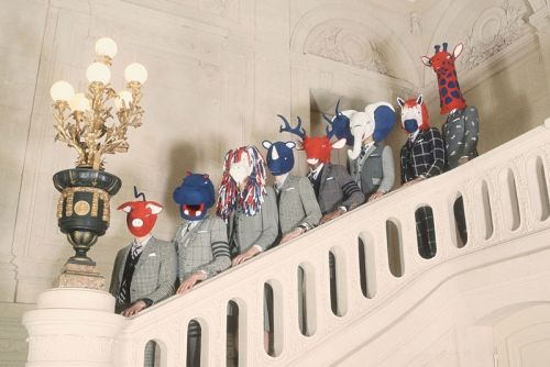 Thom Browne FW20 Invites an Animal Menagerie for a Human Feast